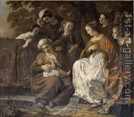 The Finding of Moses, 1653 by Jan Victors - Reproduction Oil Painting