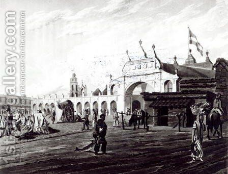 Market Place, engraved by Daniel Havell 1785-1826 1820 by (after) Vidal, Emeric Essex - Reproduction Oil Painting