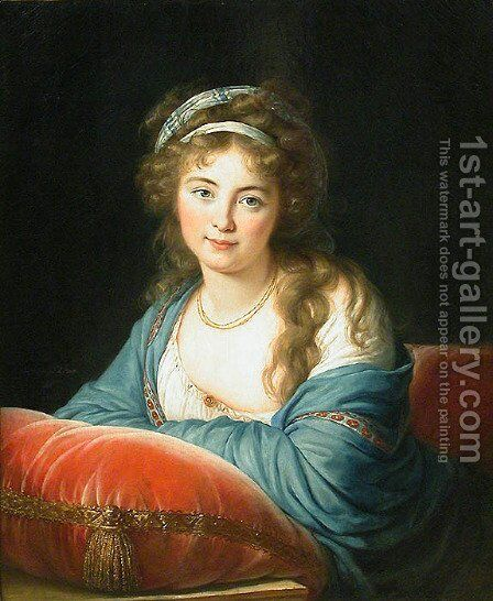 The Countess Catherine Vassilievna Skavronskaia 1761-1869 1796 by Elisabeth Vigee-Lebrun - Reproduction Oil Painting