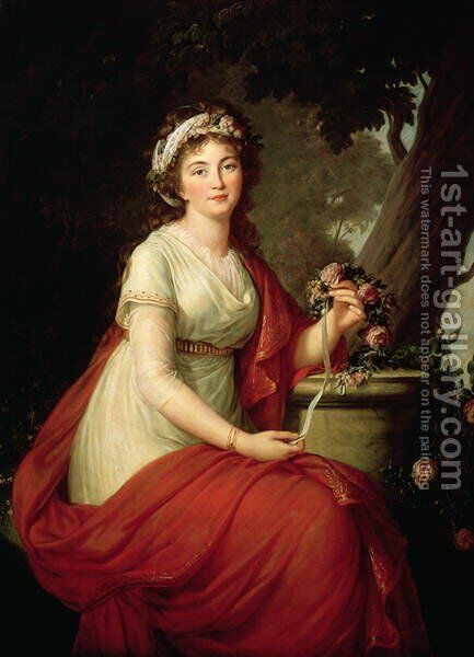 Princess Youssoupoff, 1797 by Elisabeth Vigee-Lebrun - Reproduction Oil Painting