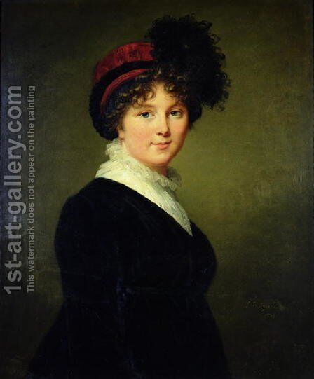 Portrait of Arabella Cope, Duchess of Dorset by Elisabeth Vigee-Lebrun - Reproduction Oil Painting