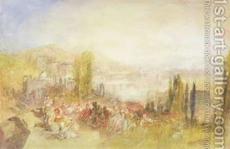 Florence, 1851 by Turner - Reproduction Oil Painting