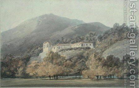 Santa Lucia, A Convent near Caserta, c.1795 by Turner - Reproduction Oil Painting