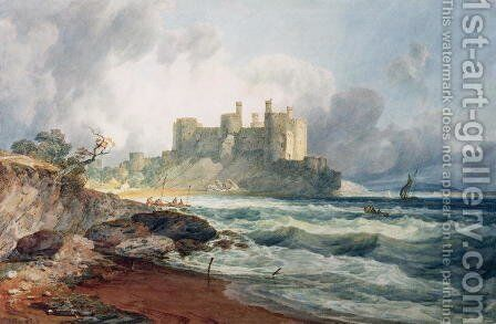 Conway Castle 2 by Turner - Reproduction Oil Painting