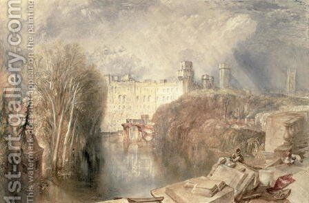 Warwick Castle Painting By Turner Reproduction 1st Art Gallery