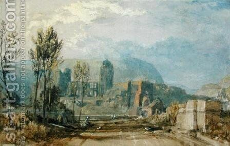 Andernach, 1817 by Turner - Reproduction Oil Painting