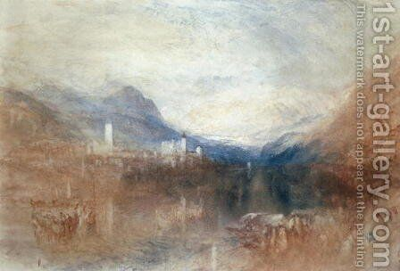 Pallanza, Lake Maggiore by Turner - Reproduction Oil Painting