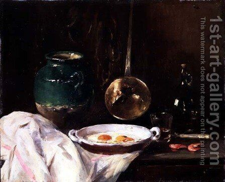 Still Life by Antoine Vollon - Reproduction Oil Painting