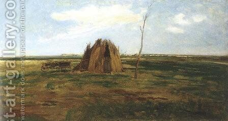 Tajkep, 1878 by Gyula Aggházy - Reproduction Oil Painting