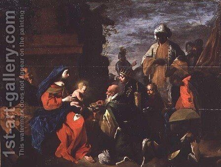 The Adoration of the Magi, c.1640-45 by Jean Tassel - Reproduction Oil Painting