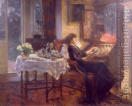 The Quiet Hour, 1913 by Albert Chevallier Tayler - Reproduction Oil Painting