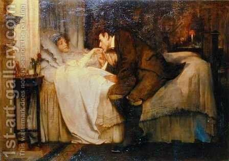Spring by Albert Chevallier Tayler - Reproduction Oil Painting
