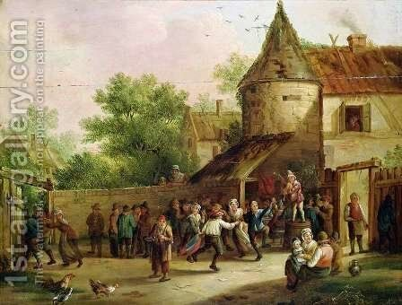 The Village Fete by David The Younger Teniers - Reproduction Oil Painting