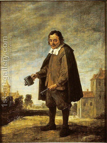 The Collector, 1671 by David The Younger Teniers - Reproduction Oil Painting