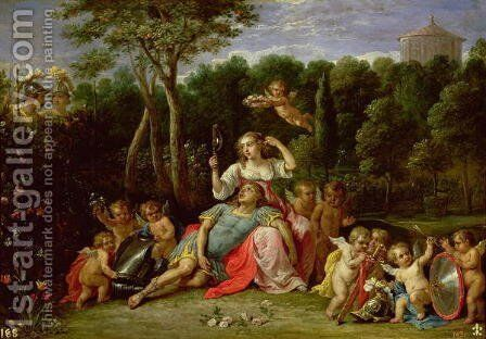 The Garden of Armida by David The Younger Teniers - Reproduction Oil Painting