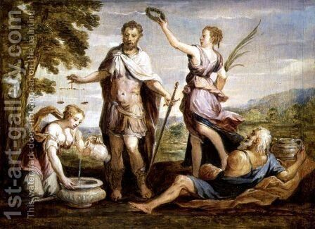 Publius Scipio Africanus 237-183 BC by David The Younger Teniers - Reproduction Oil Painting