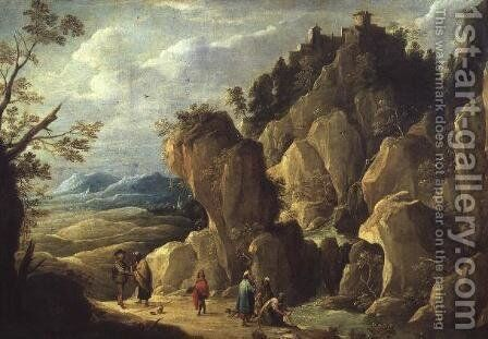 The Gypsies by David The Younger Teniers - Reproduction Oil Painting