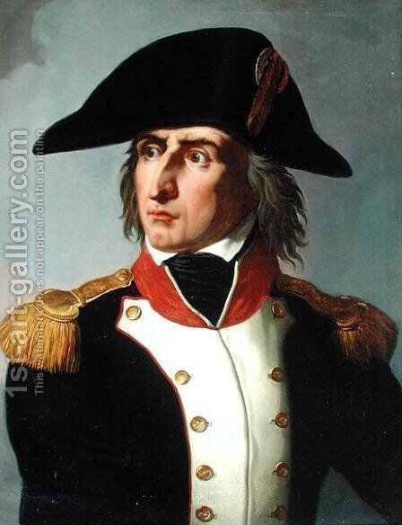 Charles-Pierre-Francois Augereau 1757-1816 Duke of Castiglione by Claude-Noel Thevenin - Reproduction Oil Painting