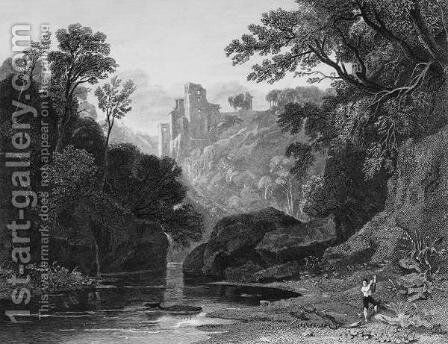 View of Roslin Castle by (after) Thomson, Rev. John of Duddingston - Reproduction Oil Painting