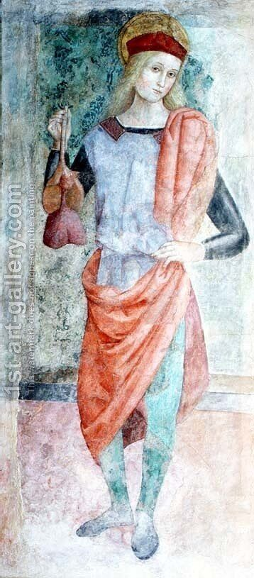 St. Ansanus d.303 by d'Assisi, Tiberio - Reproduction Oil Painting