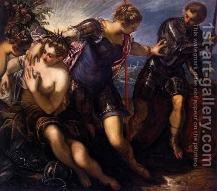 Minerva Repelling Mars, 1578 by Jacopo Tintoretto (Robusti) - Reproduction Oil Painting
