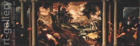 St. Roch Ill in the Desert, c.1560 by Jacopo Tintoretto (Robusti) - Reproduction Oil Painting