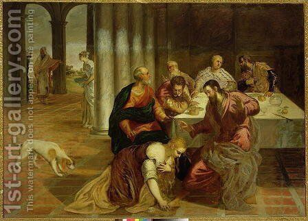 The Conversion of Mary Magdalene, 1546-7 by Jacopo Tintoretto (Robusti) - Reproduction Oil Painting
