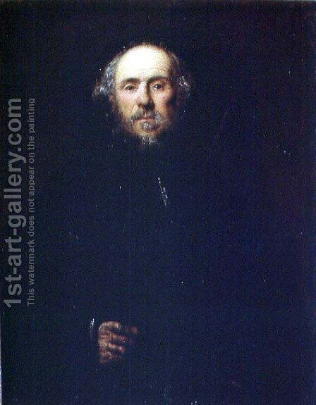 Portrait of a Man 2 by Jacopo Tintoretto (Robusti) - Reproduction Oil Painting