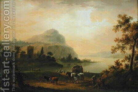 The Morning, 1773 by Johann Jacob Tischbein - Reproduction Oil Painting