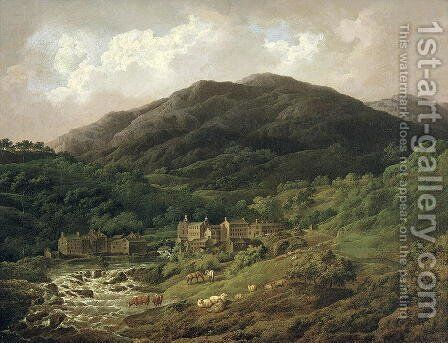Backbarrow Cotton Mill by Charles Towne - Reproduction Oil Painting