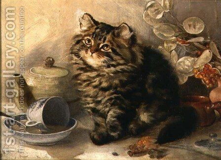 A Little Upset by Ada Eliza Tucker - Reproduction Oil Painting