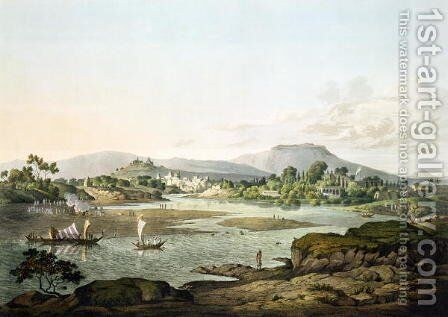 Poonah, plate XIII, engraved by Daniel Havell 1785-1826 1809 by (after) Salt, Henry - Reproduction Oil Painting