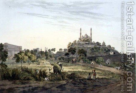 A View at Lucknow, plate VII, engraved by Daniel Havell 1785-1826 1809 by (after) Salt, Henry - Reproduction Oil Painting