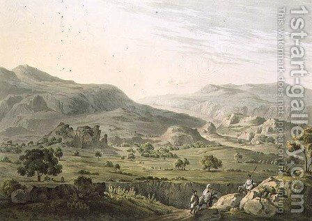The Pass of Atbara in Abyssinia, engraved by Daniel Havell 1785-1826 1809 by (after) Salt, Henry - Reproduction Oil Painting