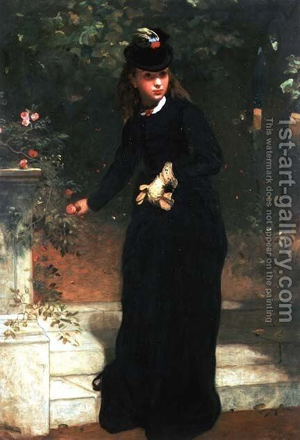 The Morning Ride by James Sant - Reproduction Oil Painting
