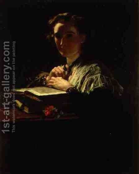 Light Thrown on a Dark Passage by James Sant - Reproduction Oil Painting