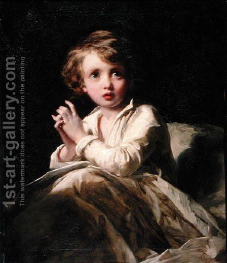 The Infant Samuel, c.1853 by James Sant - Reproduction Oil Painting