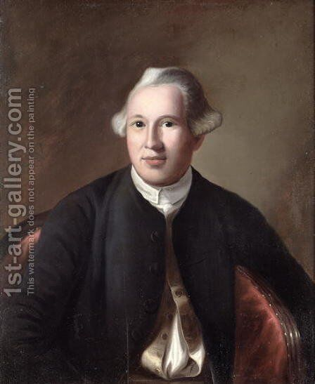Joseph Warren after the original by John Singleton Copley 1741-75 by Edward Savage - Reproduction Oil Painting
