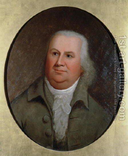 Robert Morris 1734-1806 c.1790 by Edward Savage - Reproduction Oil Painting