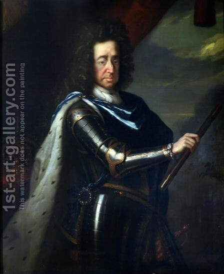 King William III by Godfried Schalcken - Reproduction Oil Painting