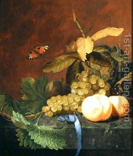 A Still Life by Godfried Schalcken - Reproduction Oil Painting