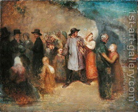Scene of an Exodus, c.1858 by Ary Scheffer - Reproduction Oil Painting