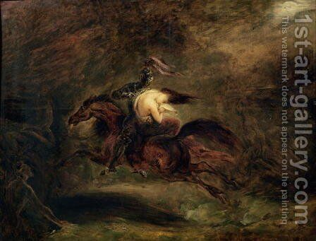 The Dead Go Quickly, 1830 by Ary Scheffer - Reproduction Oil Painting