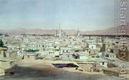 Damascus, 1844 by Max Schmidt - Reproduction Oil Painting