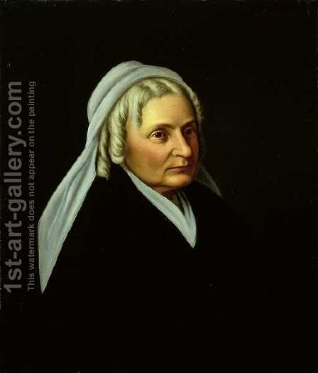 Mrs. Robert E. Lee by Christian F. Schwerdt - Reproduction Oil Painting