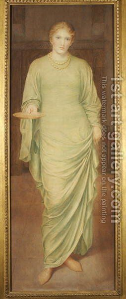 Enid, And seeing her so sweet and serviceable by Alice M. Scott - Reproduction Oil Painting