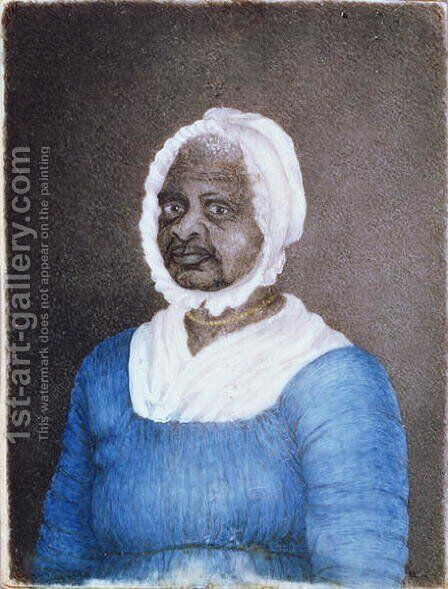 Portrait of Elizabeth Mumbet Freeman c.1742-1829 1811 by Susan Anne Livingston Ridley Sedgwick - Reproduction Oil Painting