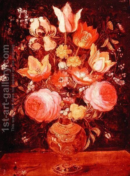 Vase of Flowers by Daniel Seghers - Reproduction Oil Painting