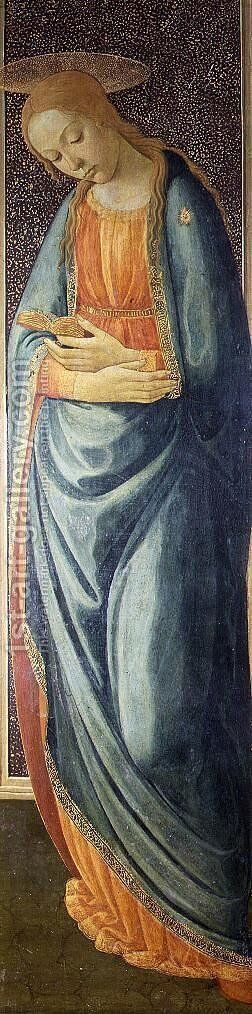 Virgin Mary, 1473 by Jacopo Del Sellaio - Reproduction Oil Painting