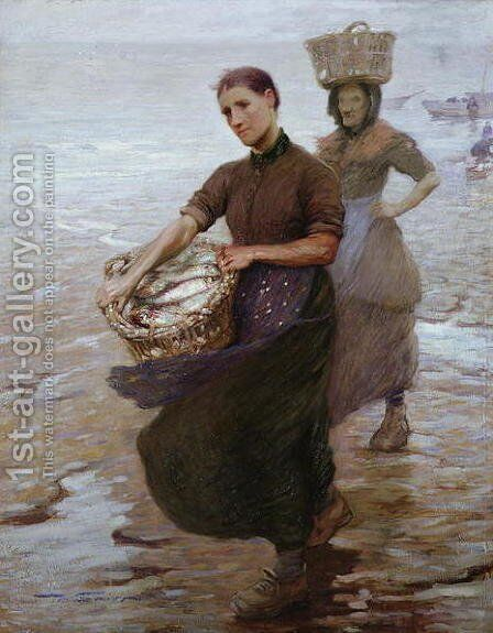 Toil by Mark Senior - Reproduction Oil Painting
